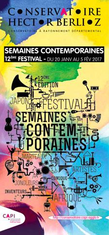 Semaines contemporaines festival 2017